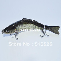 other best bass baits - 2014 best popular lure of fishing Multi Jointed Fishing Lure Bait Swimbait Bass Shad Minnow
