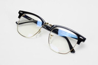 Wholesale 4 colors Eyeglasses glasses frame black and Tortoiseshell L and S size glasses frame with the retail box