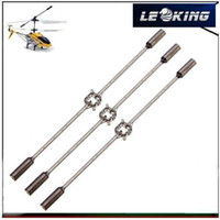 Wholesale 3pcs Syma S107 S105 S108 RC Helicopter Balance Bar Stabilizer Flybar Spare Parts S107