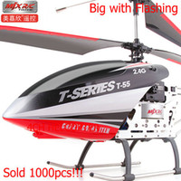 Ready-to-Go above 9 minutes 8-11 Years,12-15 Years,Grownups Big Helicopter, MJX T55 Super large remote control model, t-55 64cm 2.4HZ, like T23 T40,Power battery, Free Shipping