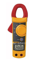 302+  New yellow Free shipping, Bland New Fluke 302+, F302+ Digital Clamp Meter AC DC Multimeter Tester, with CASE, Warranty