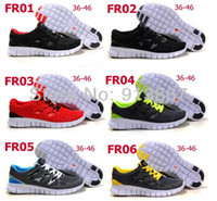 Wholesale 2014 men s women s fashion free run running shoes sporting summer walking shoes sneakers