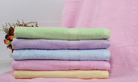 Wholesale Soft Thick Plush Bamboo Bath Towel Quick Dry Body Spa Bath Bow Wrap SHeets