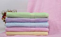 bath towels lot - Soft Thick Plush Bamboo Bath Towel Quick Dry Body Spa Bath Bow Wrap SHeets