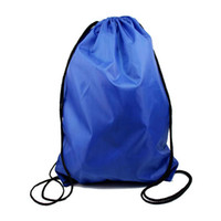Wholesale Fedex Gym Swim School Dance Shoe Boot PE Drawstring Bag Backpack Portable String Bag Drawstring Backpack