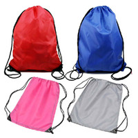 Wholesale Fedex Hot Portable Unisex Beach Gym Swim Waterproof Drawstring Backpack Storage Casual String Bag K07478
