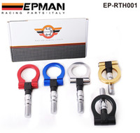 Wholesale EPMAN Billet Aluminum Universal Racing Tow Hook for japan car Bule Red golden Black silver EP RTH001