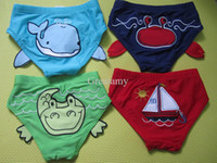 Girl Swim Trunks 0-4T Cartoon Animal boy girl Swim shorts Trunks kids Bathing Swimming Trunk baby brief Swimwear children Swimsuit
