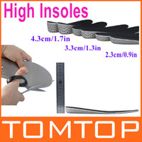 Cheap High quality Men Women Increase Height High Full Insoles Memory Foam Shoe Inserts Cushion Pads Wholesale