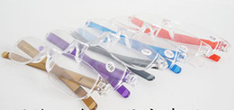 (20pcs lot) cheap men women transparent clear reading glasses, plastic slim reading glasses many colors strength power from +1.00 to +4.00