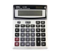 Wholesale deli DeSktop Calculators scientific solar transparent calculator mini scientific calculator