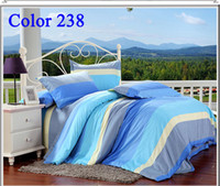 Adult Plaid VELOUR 2014 Hot Grid Bedding Set Brand Full Queen King size Bedding Sets 4pcs Duvet Quilt Cover Bed Set Bedding Home Textile Mix Order Bed In a Bag