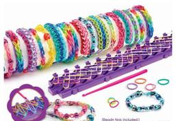 Wholesale Cra Z Art Shimmer n Sparkle Cra Z Loom Bracelet Maker toys Children Christmas toys hot selling Chirstmas gift for Children kid New