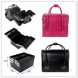 Wholesale 1X Professional Salon Hand held Makeup Case Cosmetic Bags K1743