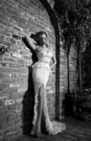 Sheath/Column Reference Images Spaghetti Sexy Charming Peplum White Applique High Split Side Sheath Wedding Dresses Lace Spaghetti Straps Zipper Back Court Train Bridal Gown