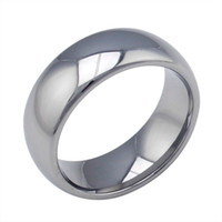 Wholesale Mens Jewelry High Polished Wedding Bands Ring tungsten carbide ring US Size