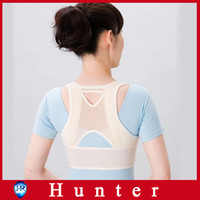 back and shoulder support - Prevent humpback Posture Back Shoulder Corrector Support Brace Belt for health and beauty care