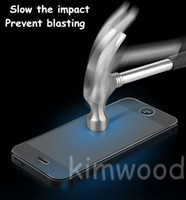 Pour Iphone 5 / 5S / 4 / 4S Apple Montre Ipod Touch 5/6 de qualité supérieure en verre trempé Protecteur d'écran 0.2MM 9H 2.5D