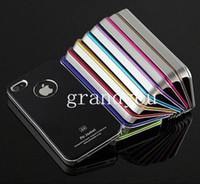 Metal air jacket iphone case - Air Jacket Aluminum Case Luxury Metal PC Hard Back Cover Case Shell Skin Aluminium Factory Direct Sale For iPhone SE S S