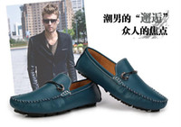 Wholesale new leather men s leather shoes casual shoes Peas shoes