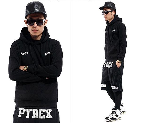 Wholesale mujeres Hoodies PYREX VISION 23 Hip-hop Sudaderas hoodie ...