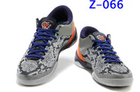 snakeskin - Air Sports Shoes K8 VIII System Mine Grey Court Purple Snakeskin Wolf Basketball Shoes Training Sneakers Men s Athletics Boots