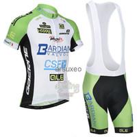Short Anti Bacterial Men Wholesale - 2014 Bardiani Pro Cycling Jersey + Bib Shorts Cycling Kit Castelli Team Cycle Clothing Sets