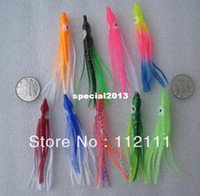 Wholesale fishing lure soft lure octopus lure squid jigs big game lure bait skirt cm
