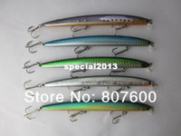 other River Lure Fishing Lure Bass Pike Bait 130mm 11g Crankbait Floating Minnow 5 Pcs Lot