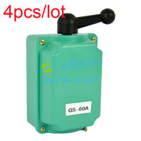 TK0337# Green 12.3 x 8.5 x 7cm(L x W x H) (Approx) 4PCS LOT 60A 60 Amp Forward Off Reverse Motor Control Rain Proof Reversing Drum Switch Drop Shipping TK0337