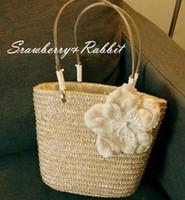 Wholesale Straw Tote Bag Beach Bag Eco For Women PC B9