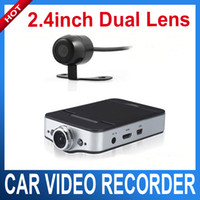 Wholesale 2 inch Car DVR P Dual Separate Lens Dashboard vehicle Camera Video Recorder