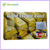 Wholesale full capacity NEW gold bar credit card Genuine USB memory Gold bars USB flash drive G G G G G