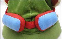 Wholesale Retail League of Legends cosplay cap Hat Teemo hat Plush Cotton LOL plush toys Hats DHL Free