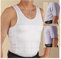 Wholesale New Mens Slimming Body Slim Vest Belly Shaper Underwear Compression Buster