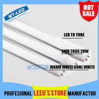 Wholesale FEDEX FREE SHIPPPING LED T8 Tube W LM SMD Light Lamp Bulb feet m mm V led lighting fluorescent year warranty
