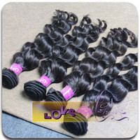 Burmese Hair Loose Wave Under $200 Burmese loose wave natural virgin hair weave 100% human hair 3 bundles lot mix length from one donor can be dyed and bleached high quality