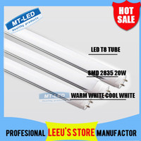 Wholesale X50 FEDEX FREE SHIPPPING LED T8 Tube W LM SMD Light Lamp Bulb feet m mm V led lighting fluorescent year warranty