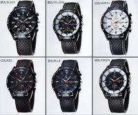 Red Round Analog-Digital Japan movement Brand Men watch Military Pilot Aviator Army Watches Silicone Quartz wristwatch fabulous Outdoor Sport Wrist Watch utop2012