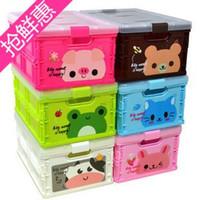 folding box - Special cartoon toys folding storage box plastic storage box storage box plastic storage box cartoon