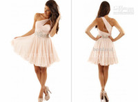 sexy mini short - 2014 Zuhair Murad Homecoming Dresses Sexy One Shoulder Sleeveless Backless Sequins Beads Glitz Short Mini Formal Prom Party Gowns BO3178