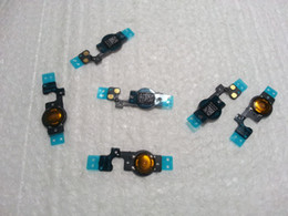 Wholesale - free shipping Home Button Flex Cable for iPhone 5C