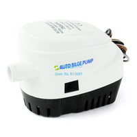 Wholesale New V Automatic Submersible Boat Bilge Water Pump GPH Auto With Float Switch Mini Volumn Save Your Space TK1149
