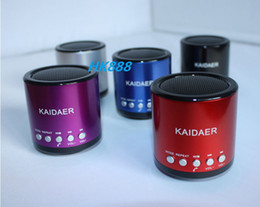 Wholesale KAIDAER BD KD06BT SPEAKER BLUETOOTH FM USB SD FOR MP3 PHONE PAD IPOD PC BD KD06BT FREE DHL