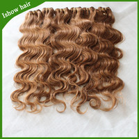 Brazilian Hair Body Wave 27# blonde brazilian hair brazilian body wave 6 bundles blonde human hair color 27# Unprocessed brazilian hair no shedding no tangle can be dyed and bleached