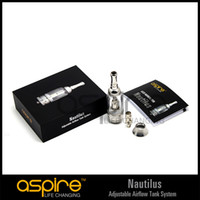 Wholesale Latest Star Item Genuine Aspire Nautilus Glass Tube Atomizer with Airflow Control China
