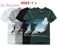 Wholesale 2014 New brand Top quality Polyester Cotton sport shirt Short sleeve fashion men s T shirt paragraph M XL