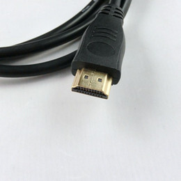 Wholesale Hot Sale M Version mini HDMI cable to hdmi cable for tablet pc tv mobile phone p goodwillbiz