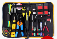 Wholesale Network pliers Network Tools Kit Set genuine pressure pliers wire cutter tester screwdriver