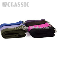 Wholesale 173cm Yoga belt Stretching Strap D Ring Pilates Exercise Gym Belt